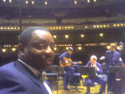 Tony at Concert