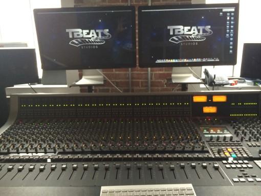 SSL Board at Tbeats Downtown Office