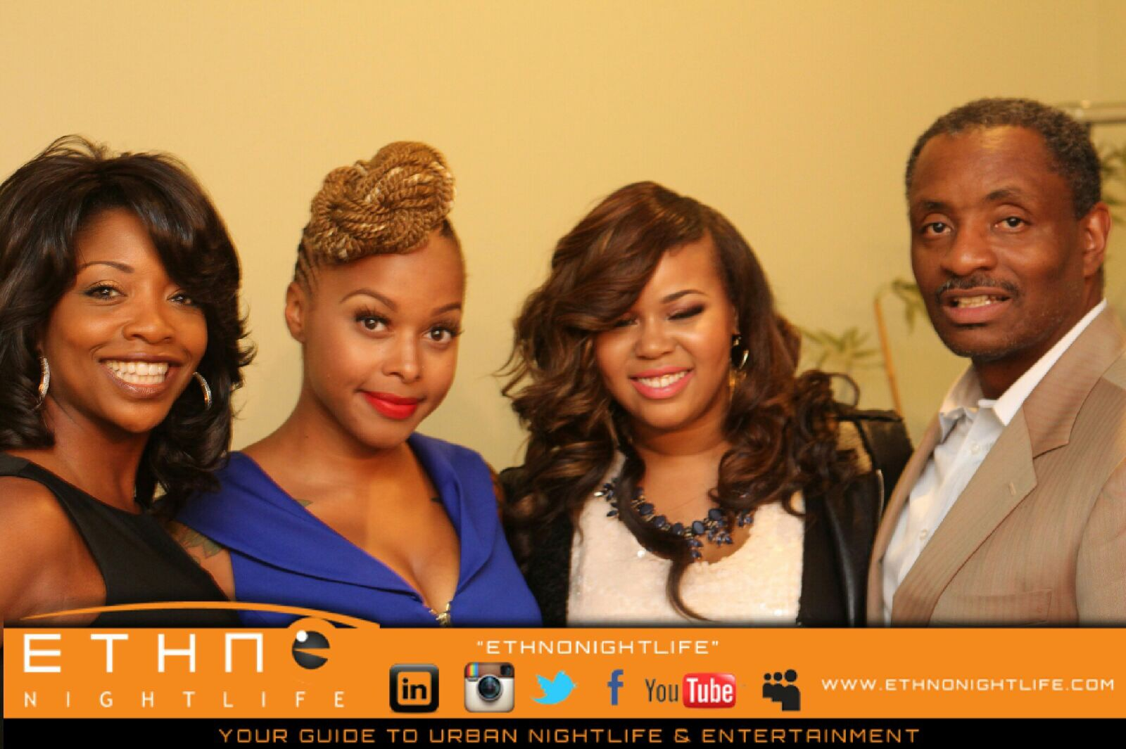 Tony with Brianna and Chrisette Michelle