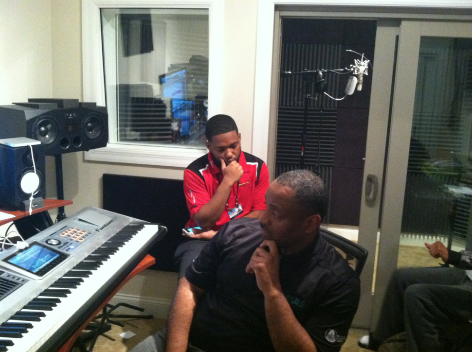 Late Night with Bone Thugs and Harmony in West County Studio