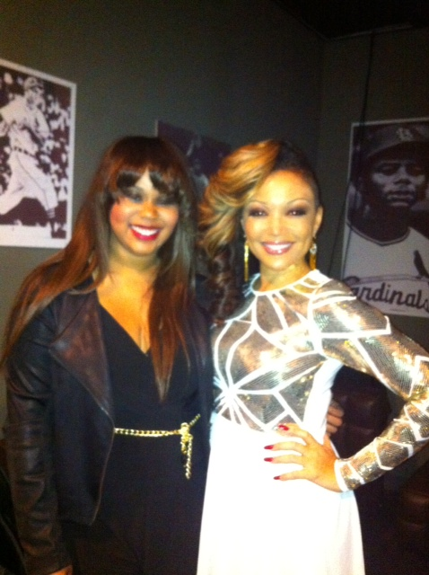 Brianna with Chante Moore