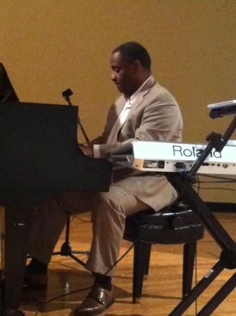 Anthony Thompson Playing Piano
