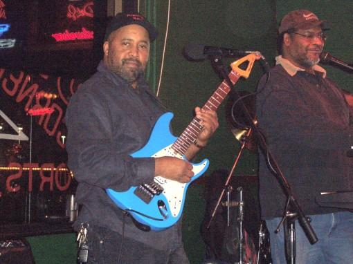 Nick Brown Playing Music