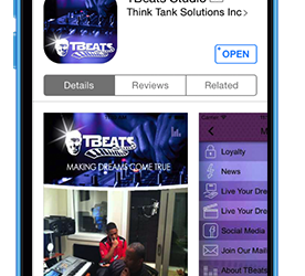 TBeats App Launched