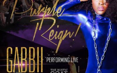 Gabbii Performs in PURPLE REIGN